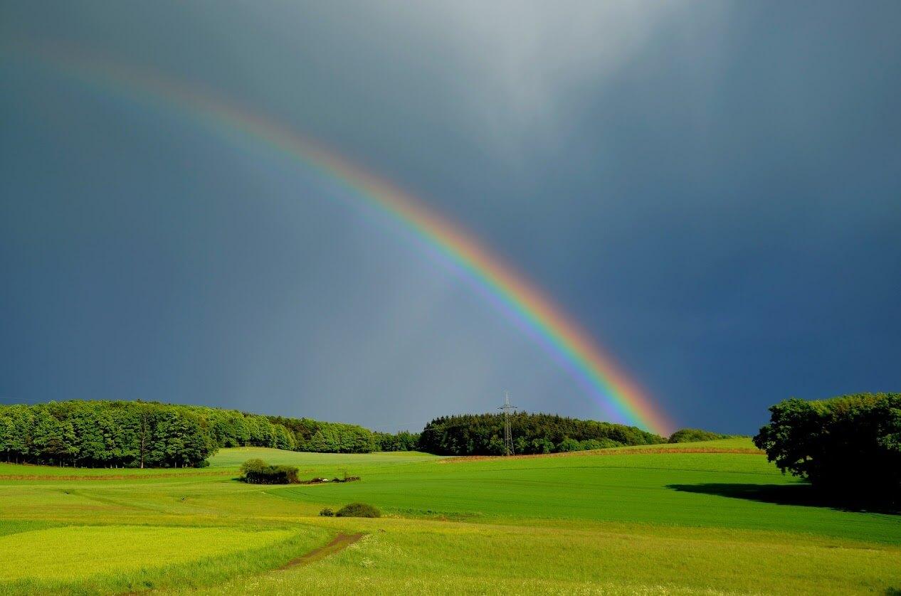 Regenbogen Winterdepression vorbeugen